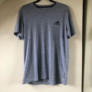 Gray Adidas Men's Large Climalite Ultimate 2.0